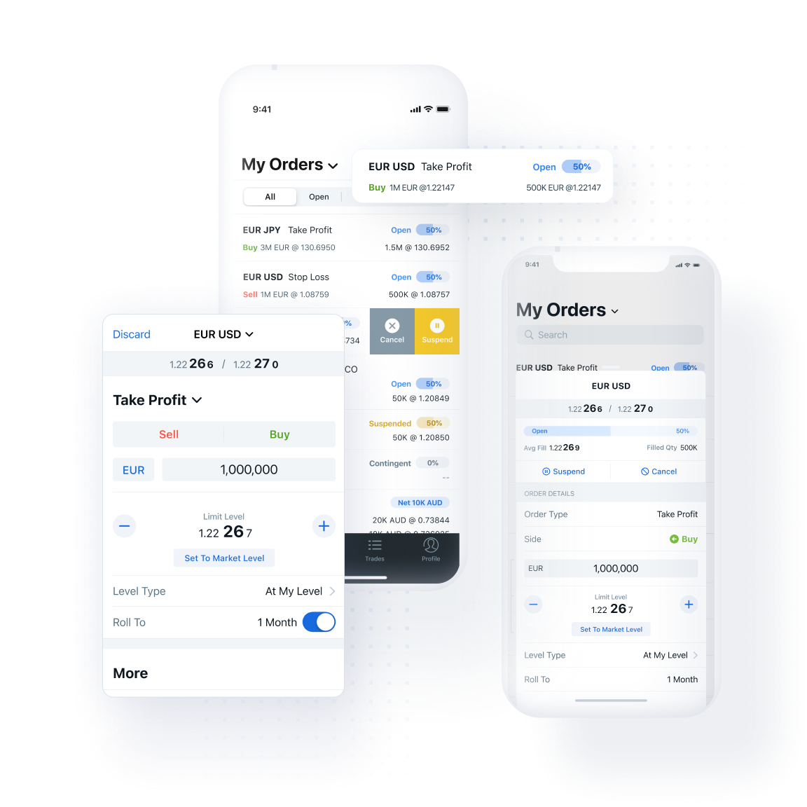 Accesspoints mobile Trading mobile Order Management2x